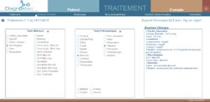 Examen clinique avec tests médicaux et orthopédiques
