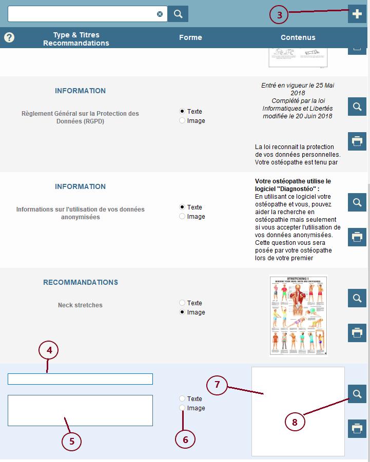 """Comment créer une nouvelle """"feuille recommandation"""""""