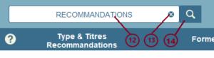 Schema 6 : recommandations