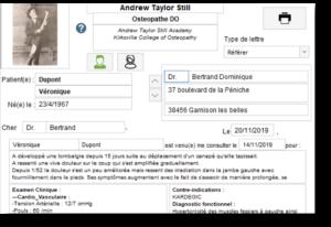 Création de courriers automatisés