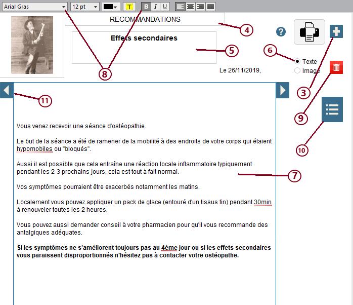 Schema 5 - Recommandations