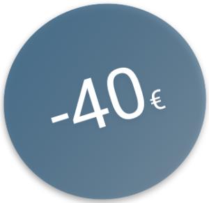 -40€ sur l'achat d'une licence d'1 an