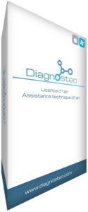 Licence 1 an, logiciel pour ostéopathes Diagnosteo