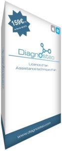 Offre Diagnosteo : licence d'1 an avec 40€ de remise