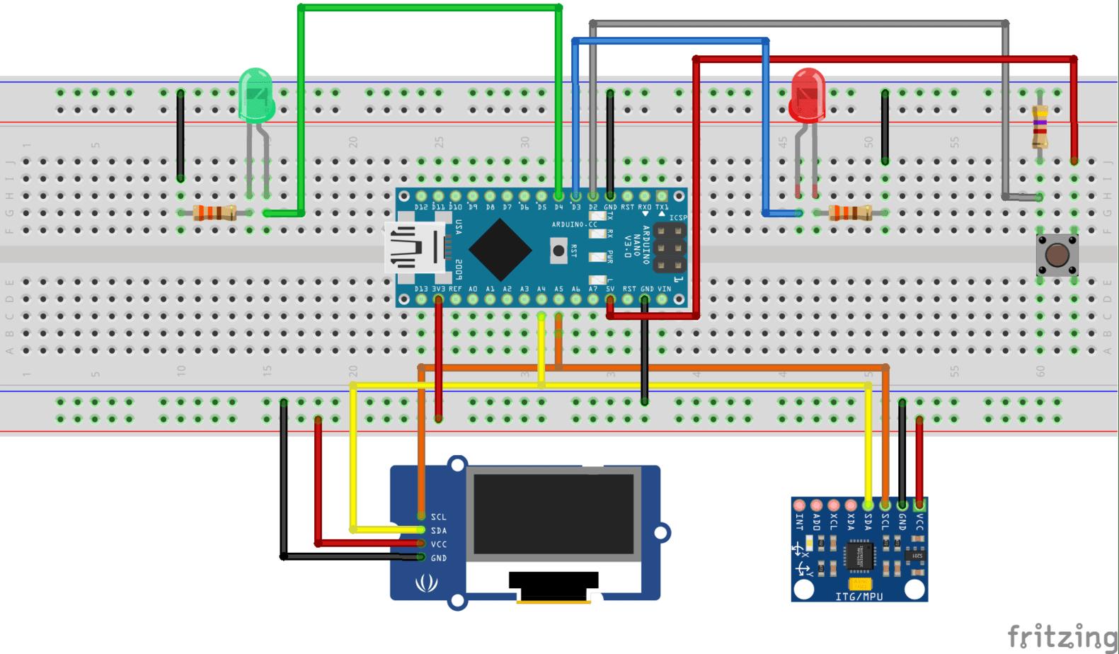 Arduino : outil de mesure mobilité cervicale